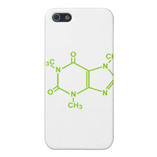 Caffeine Molecule Cover For iPhone 5/5S