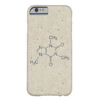 Caffeine Molecule for Coffee Lovers Barely There iPhone 6 Case