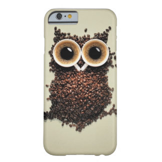 Caffeine Owl Barely There iPhone 6 Case