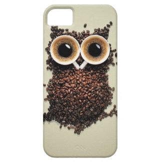 Caffeine Owl iPhone 5 Cover