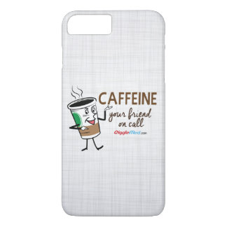 Caffeine, Your Friend on Call iPhone 7 Plus Case