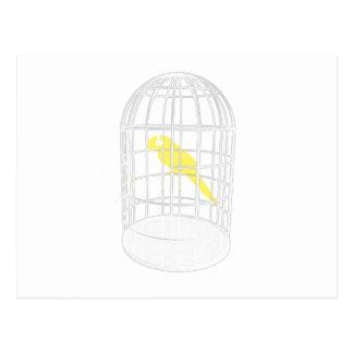 Caged Bird Postcard