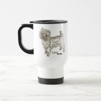 Cairn Terrier Traveler - TypoDoggies Coffee Mugs