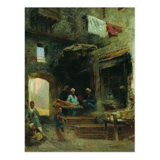 Cairo court by Konstantin Makovsky Postcard
