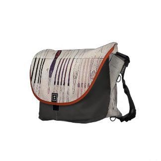 Cajal_Retina processed daubs Messenger Bag