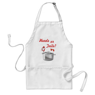 Cajun Chef Heads or Tails Apron