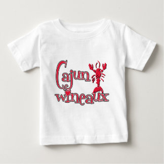 Cajun Wineaux crawfish red Baby T-Shirt