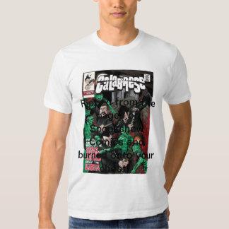 Calabrese Comic Book Tee Shirt