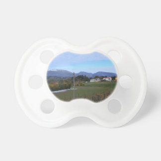 Calabrian Vineyard Baby Pacifiers