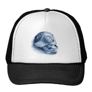 calavera mesh hats