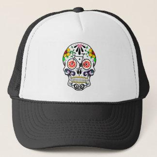 Calavera - Sugar Skull Bike Trucker Hat
