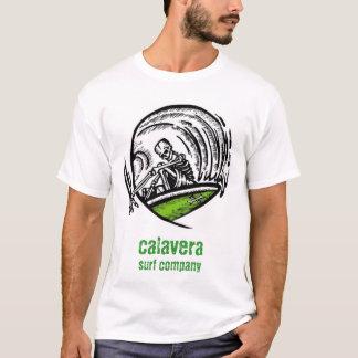 calavera surf company - logo shirt