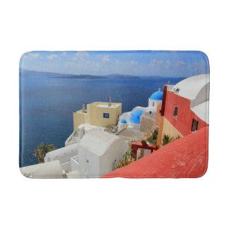 Caldera, Oia, Santorini, Greece Bath Mat