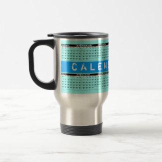 Calendar 2011 Travel Mug Blue