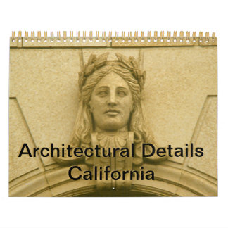 Calendar - Architectural Details California