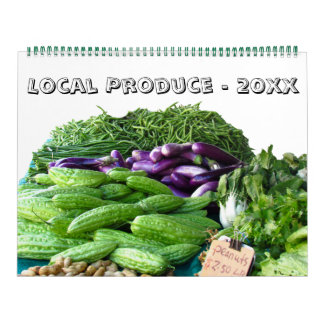 Calendar - Local Produce for This Year