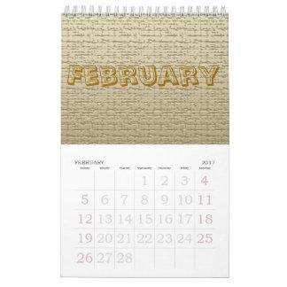 Calendar - Textures