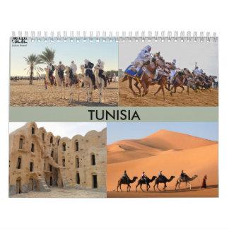 Calendar with photo tunisia