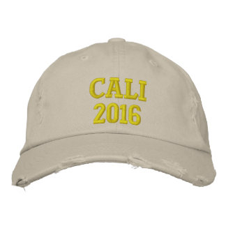 CALI 2016 EMBROIDERED HAT