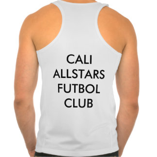 Cali Allstars FC Men's New Balance Tempo Tank Top