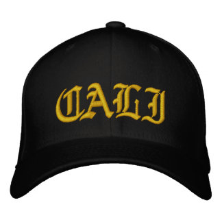 CALI Baseball Cap - Black and Gold
