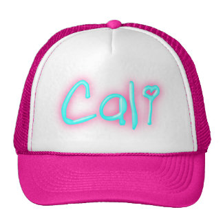Cali California Love Heart Trucker Hat