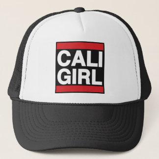 Cali Girl Red Trucker Hat