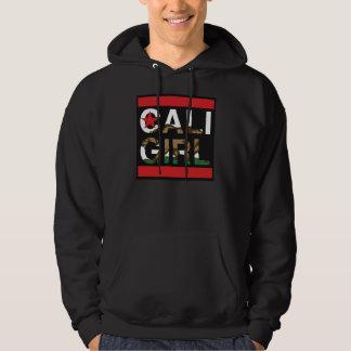 Cali Girl Rep Red Hoodie
