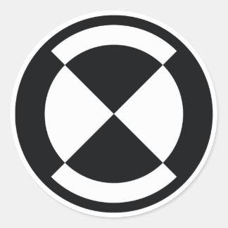 calibration badge - curiosity rover round sticker