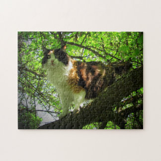 Calico bird hunter by djoneill jigsaw puzzle