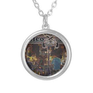 Calico Jacks Grand Cayman Island Silver Plated Necklace