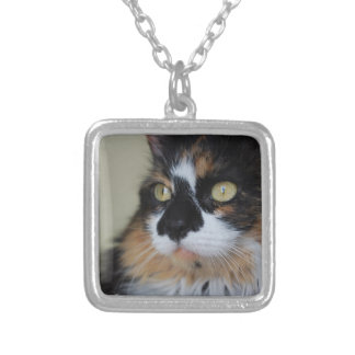 Calico Kitty Necklace