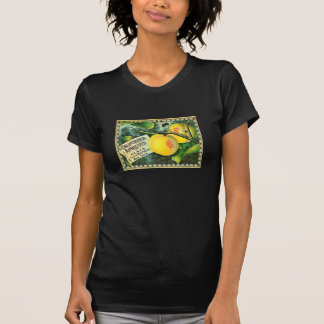 California Apricots Vintage Crate Label T-shirts