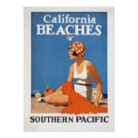 California Beaches Posters