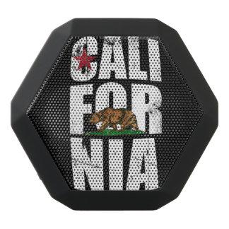 California Bear Flag Black Bluetooth Speaker
