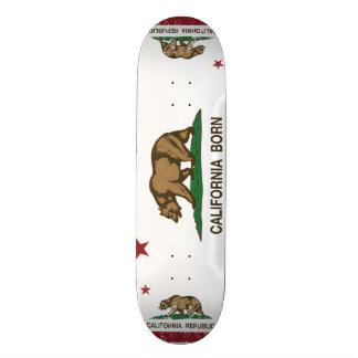 California Born Bear Flag Skateboard Decks