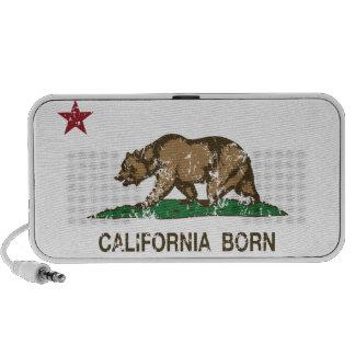 California Born Bear Flag Mini Speaker