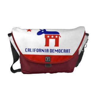 california democrat messenger bag