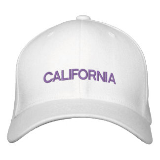 CALIFORNIA EMBROIDERED CAP