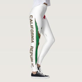 California Flag 90 degree full bleed Leggings