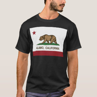 california flag alamo T-Shirt