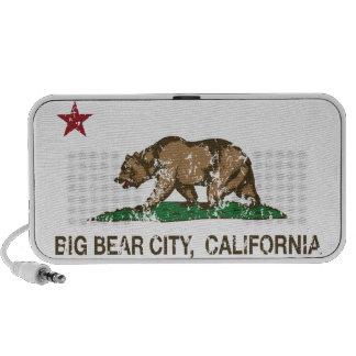 california flag big bear city distressed mp3 speaker
