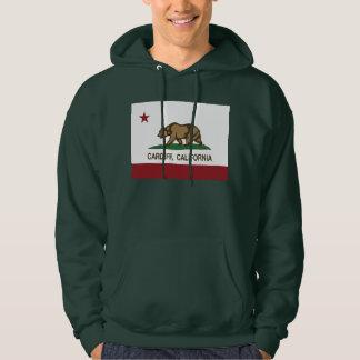 California flag cardiff Flag Hoodie