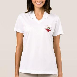 california flag carson heart polo shirt