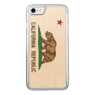 California Flag Carved iPhone 8/7 Case