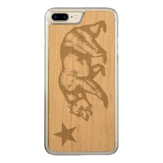 California Flag Carved iPhone 8 Plus/7 Plus Case