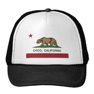california flag chico cap