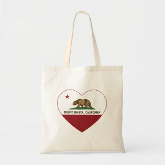 california flag mount shasta heart canvas bag