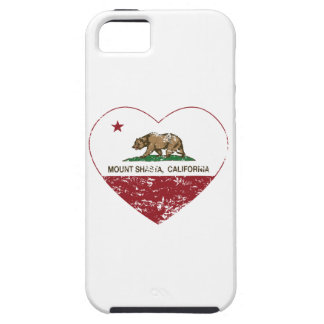 california flag mount shasta heart distressed iPhone 5 covers