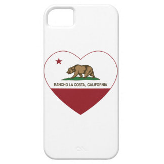 california flag rancho la costa heart iPhone 5 covers